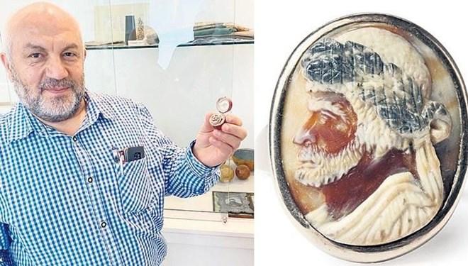 Barbaros Hayrettin Paşa'nın Yüzüğü 9 Bin 500 Euroya Yeni Sahibinde