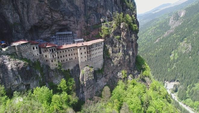 Sümela Manastırı, Ayasofya Cami ve Kızlar Manastırı açılıyor