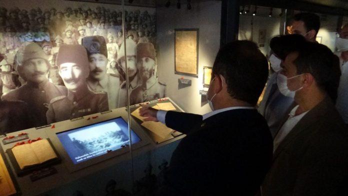 Çanakkale Ruhu Mobil Müze İle Türkiye'ye Yolculuğuna Başladı