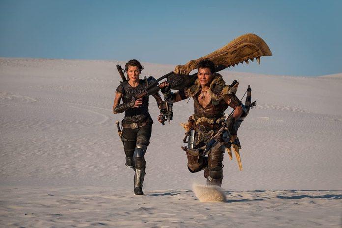 Milla Jovovich'li Monster Hunter Ertelendi