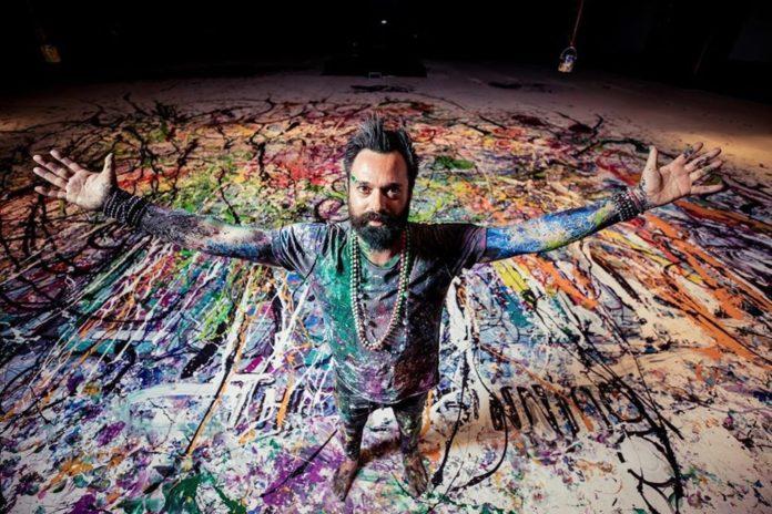 Ressam Sacha Jafri Rekora Koşuyor
