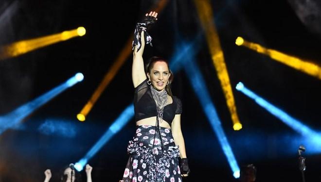 Sertab Erener Yeni Albümünün Konserini Yenikapı'da Verdi