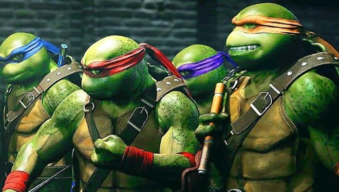 Ninja Turtles Beyazperdeye Dönüyor