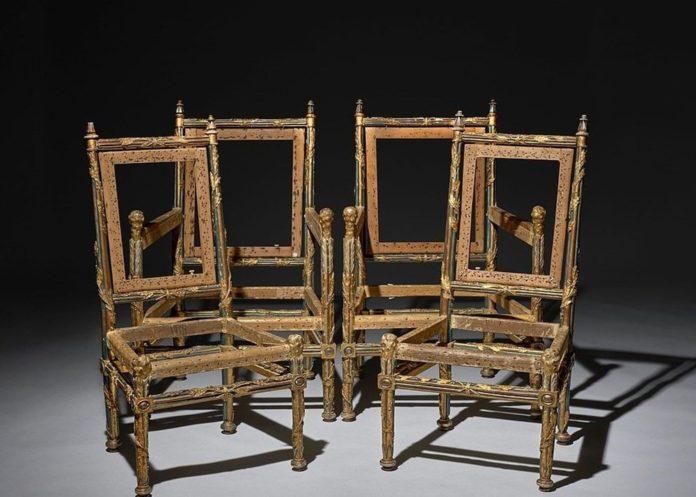 Fransa Kralı 16'ncı Louis'nin Kardeşine Ait 4 Sandalye 1 Milyon İngiliz Pounduna Satıldı