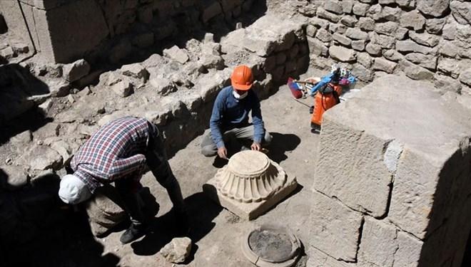 Gümüşhane'deki Satala Antik Kenti'nde 2 Bin Yıllık İzlere Rastlandı