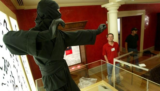 Japonya'da Ninja Müzesi Soyuldu