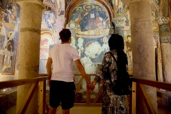 Karanlık Kilise'nin Freskleri İle Bin Yıl Öncesine Yolculuk