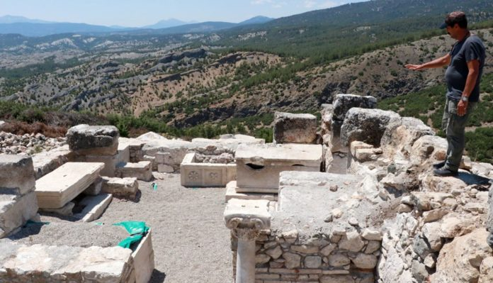 Kibyra'da İlk Defa Bazilikal Planlı Kilise Bulundu