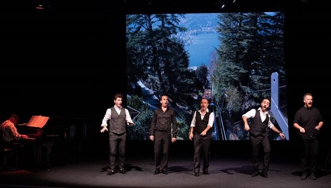 Napoliten Şarkıları Talimhane Sahne'de Yankılandı
