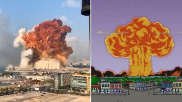 Simpsonlar'ın (The Simpsons) Lübnan Patlaması Tahmini