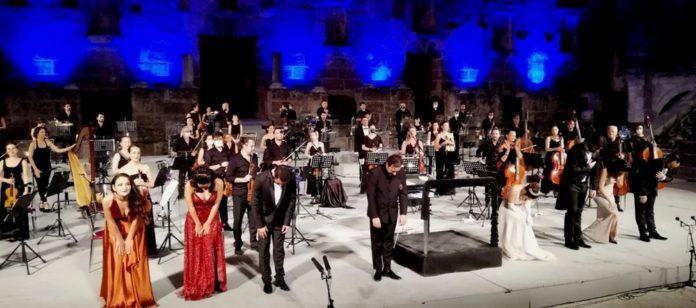 Aspendos Festivali, Genç Opera Yıldızları Konseriyle Sona Erdi