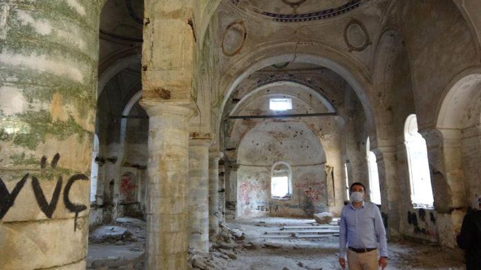 Aziz Nikolaos Kilisesi (Noel Baba) Restore Ediliyor