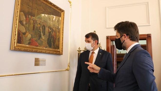 Macaristan Büyükelçisi Viktor Matis: Bu Tabloyu Sivas'ta Bulacağımı Düşünmüyordum