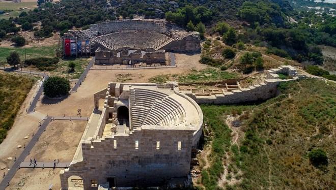 Patara Antik Kenti Eski İhtişamına Kavuşuyor