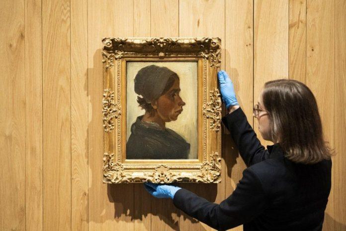 Van Gogh'un Kadın Başı Tablosuna 1,6 Milyon Euro