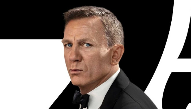 Yeni James Bond Filmi No Time To Die'dan Yeni Afiş