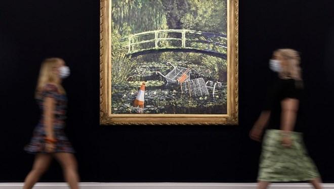 Banksy Tablosuna 7.5 Milyon Pound