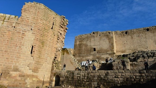 Harran Sarayı'nın Tarihi Ana Kapısı Gün Yüzüne Çıkarıldı