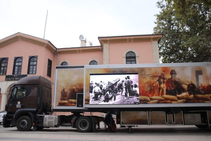 Çanakkale Savaşları Mobil Müzesi'nin 40'ıncı Durağı Elazığ Oldu