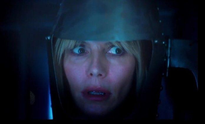Heidi Klum Cadılar Bayramı'nda Ailesiyle Evde Korku Filmi Çekti