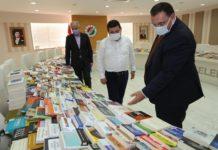 Kültür ve Turizm Bakanı Mehmet Nuri Ersoy'dan Cemil Meriç Kitaplığı'na 2 Bin Kitap Bağışı