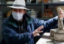 Kayseri Kültepe'de Eski Tunç Çağı'na Ait Tanrıça Heykeli Bulundu