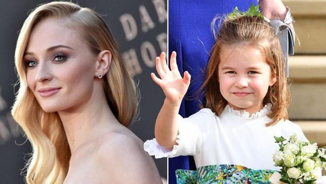 Sophie Turner Kraliyet Animasyonunda Prenses Charlotte'ı Seslendirecek