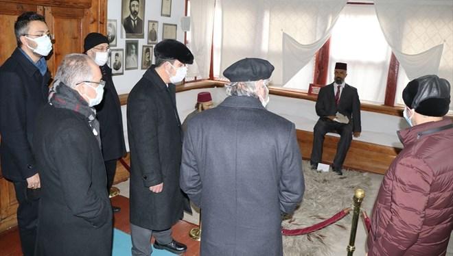 İstiklal Şairi Mehmet Akif Ersoy, Vefatının 84'üncü Yılında Taceddin Dergahı'nda Anıldı