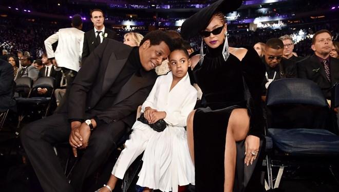 Beyonce ve Jay-Z'nin 8 Yaşındaki Kızları Blue Ivy de Grammy'ye Aday