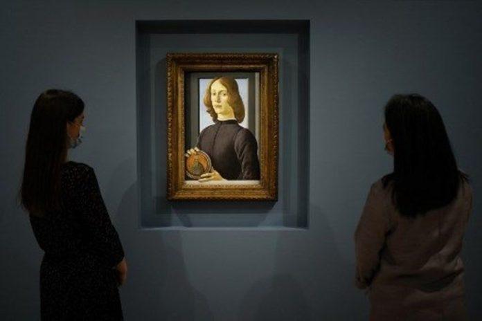 Botticelli'ye Ait Tablo 2021'in Müzayede Rekorunu Kırdı: 92 Milyon Dolar