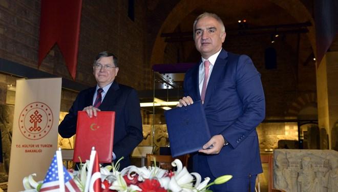 Kültür ve Turizm Bakanı Mehmet Nuri Ersoy: ABD'ye Götürülen Eserlere El Konulacak