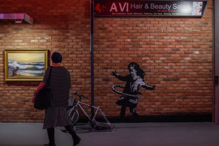 Banksy'nin Sergisi Varşova'da