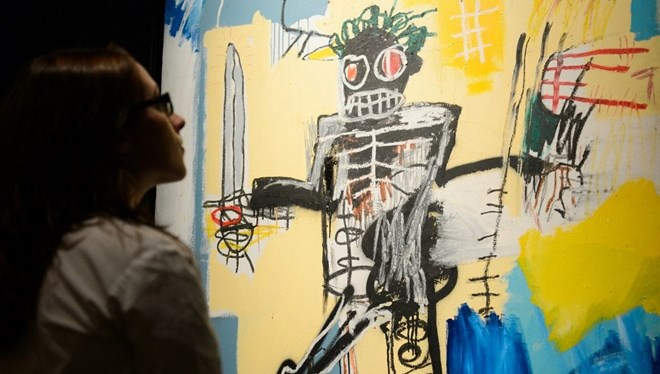 Basquiat'ın Warrior Eseri Rekor Kırmaya Aday