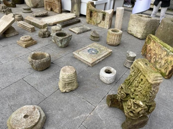 Beşiktaş'ta Tarihi Eser Operasyonu: Bizans ve Osmanlı Dönemlerine Ait Eserler