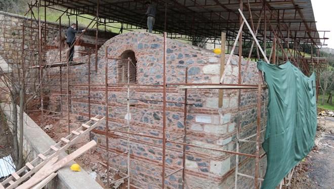 Tarihi Sadabad Sarnıcı Restore Ediliyor