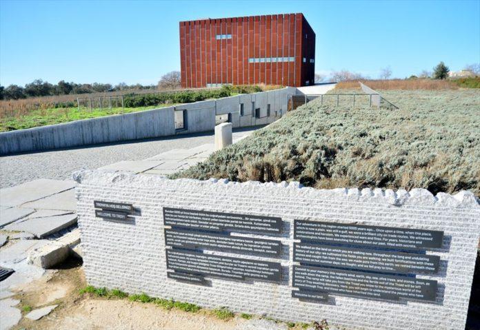 Troya Müzesi'nin Perdeleri Restorasyon ve Konservasyon Çalışmaları İçin Ziyaretçilere Açılıyor