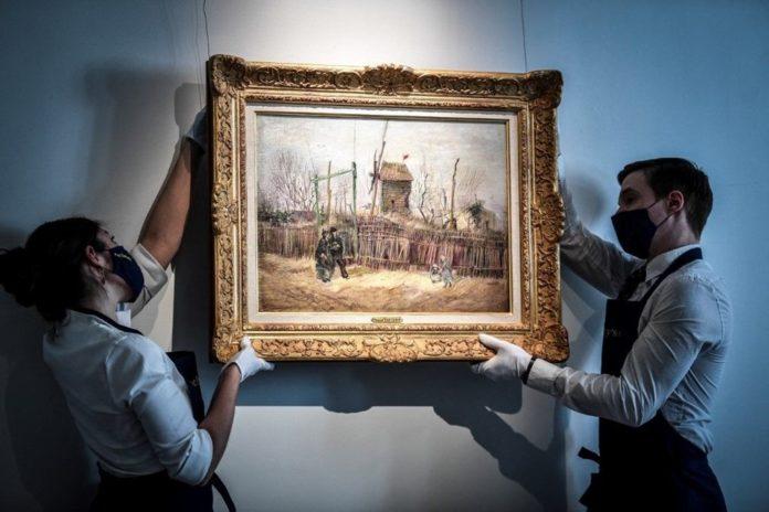 Van Gogh'un Montmartre Eseri İlk Defa Görüntülendi: 6,9 Milyon Sterline Alıcı Bulacak