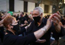 Arjantin'de Dansçıların Pandemi İsyanı
