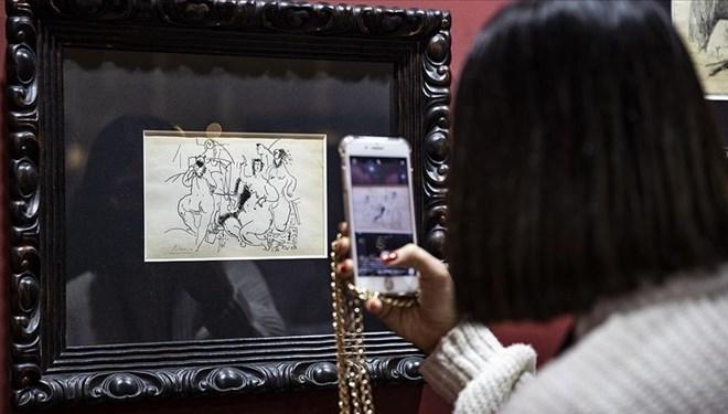 ArtAnkara'da Picasso'nun Eseri 34 Bin Euro'dan Satışa Sunuldu