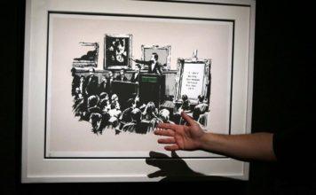 Banksy'nin Yakılan Moronlar Eseri Artık Dijital Varlık