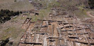 Denizli'de Tünel İçin Yapılan Bağlantı Yolu Çalışmasında 2 Bin Yıllık Yerleşim Bulundu