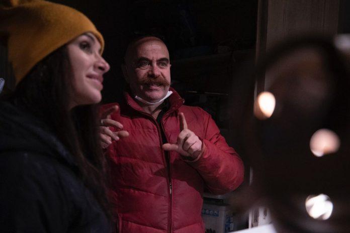 Ezel Akay'ın Osman Sekiz Filminin Çekim Provaları Başladı
