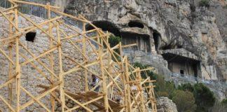 Amasya'da 2 Bin 400 Yıllık Surlar Restore Ediliyor