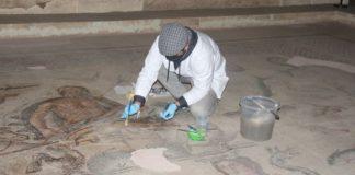 Zeugma Mozaik Müzesi'ndeki Dünyaca Ünlü Mozaikler Hassas Korumayla Gelecek Nesillere Aktarılıyor